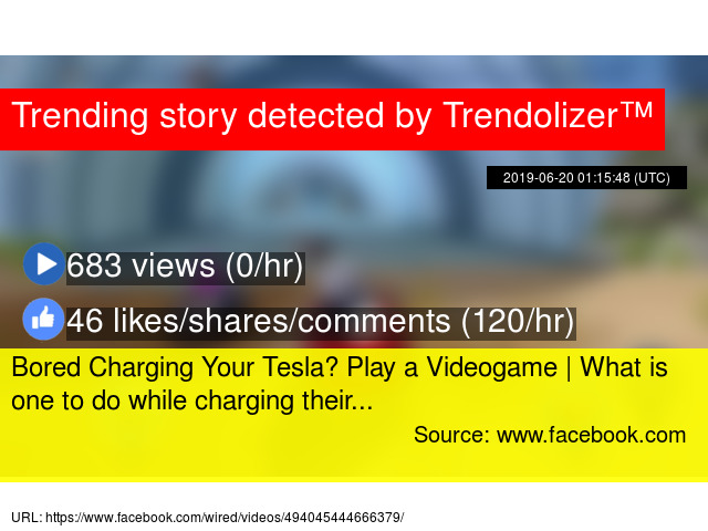 Bored Charging Your Tesla? Play a Videogame | What is one to