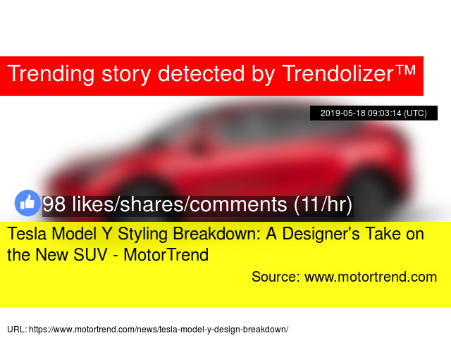 Tesla Model Y Styling Breakdown: A Designer'
