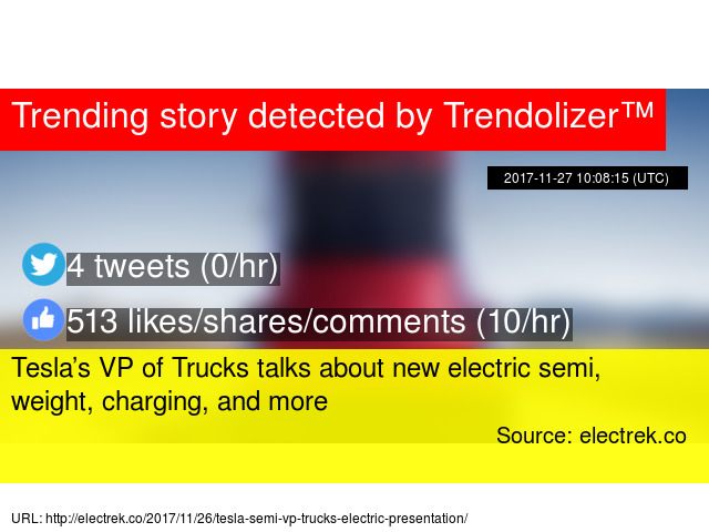 Tesla 8217 S Vp Of Trucks Talks About New Electric Semi Weight Charging And More