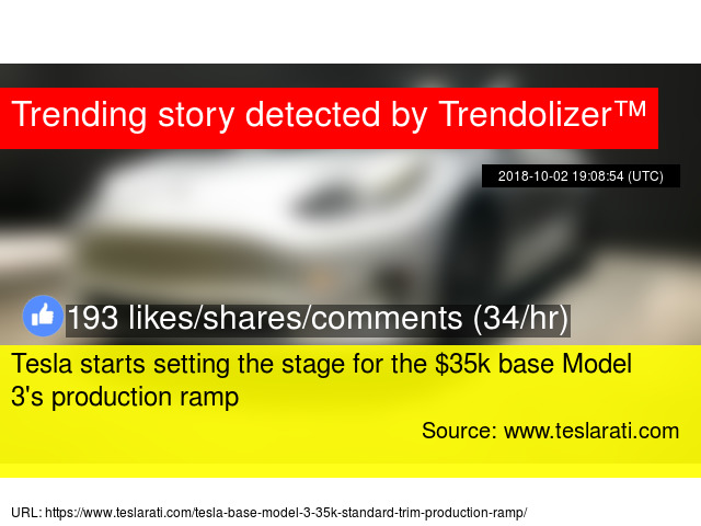 Tesla starts setting the stage for the $35k base Model 3's